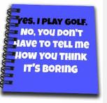 golf boring